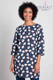 Seasalt Blue Sol Blaze Tunic