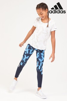 adidas Performance Lucky Blue Printed Tight