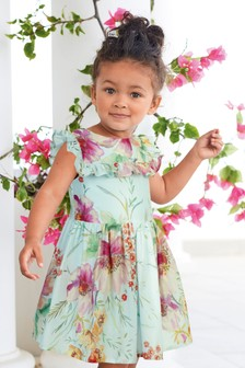 Floral Prom Dress (3mths-7yrs)