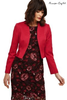 Phase Eight Bright Lipstick Yani Jacket