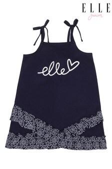 ELLE Swing Frill Hem Dress