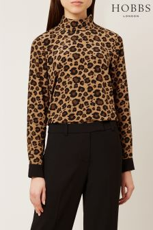 Hobbs Multi Georgiana Blouse