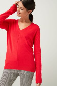 Cosy V-Neck Sweater