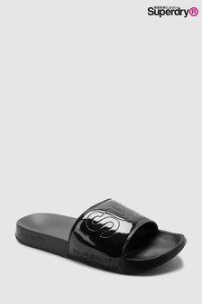 Superdry Black Holographic Slider