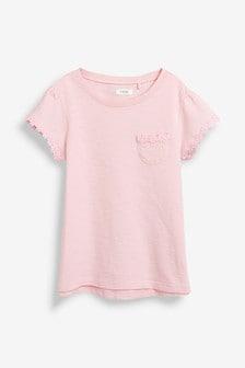 Daisy Trim T-Shirt (3-16yrs)