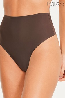Figleaves High Waisted Smoothing Thong