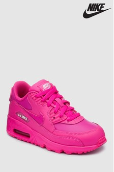 Nike Fuchsia Air Max 90 Youth