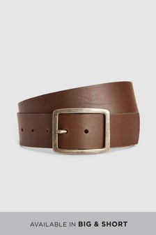 Casual Wide Leather Belt