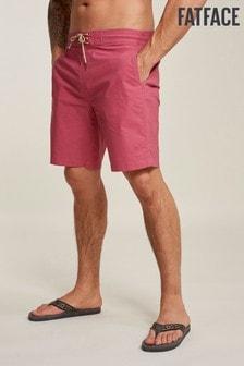 FatFace Pink Camber Plain Swimmer