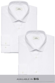 Easy Care Shirts Two Pack