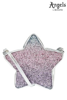 Angels by Accessorize Glitter Star Cross Body Bag