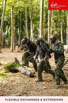 Full Day Paintballing For Two Gift Experience by Virgin Experience Days