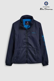 Ben Sherman Navy Windcheater Jacket