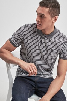 Marl Stripe Polo