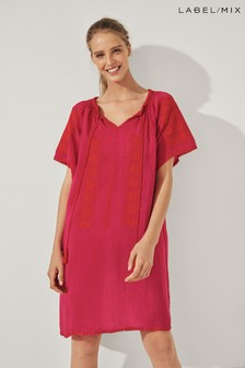 Mix/Rose And Rose Kaftan Dress