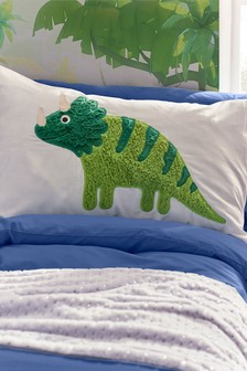 Fleece Dinosaur Pillowcase