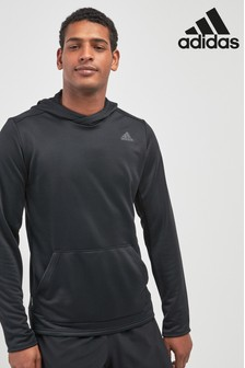 adidas Own The Run Black Overhead Hoody