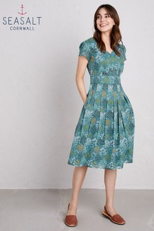Seasalt Blue Villa Garden Dress