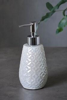 Lustre Embossed Soap Dispenser