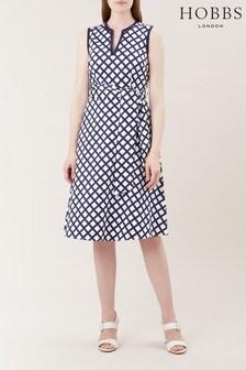 Hobbs Blue Bettie Dress