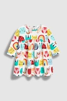 平織洋裝 (0個月至2歲)