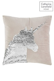 Catherine Lansfield Unicorn Cushion