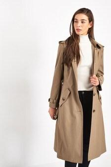 Lauren Ralph Lauren® Beige Maxi Trench Coat