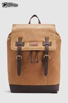 British Millerain Fabric Rucksack