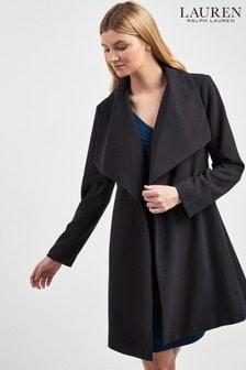 Lauren Ralph Lauren Navy Wrap Coat