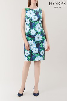 Hobbs Blue Fiona Dress