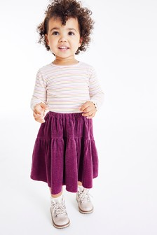 Tiered Cord Skirt (3mths-7yrs)