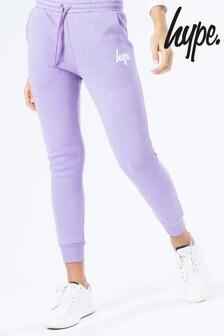 Hype. Purple Lilac Joggers