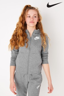 Nike Fleece Zip Through Hoody