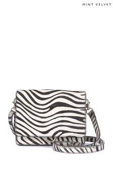 Mint Velvet Darcie Zebra Print Mini Bag