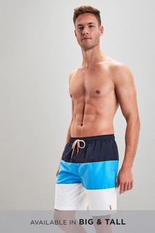 Colourblock Stag Swim Shorts