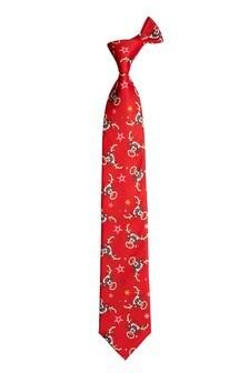 Rudolph Print Novelty Tie