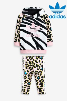adidas Originals Infant Animal Hoody And Leggings Set