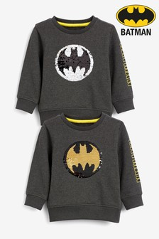 Batman® Sequin Crew (9mths-8yrs)