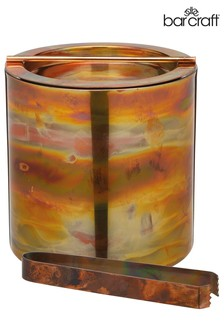 Barcraft Iridescent Copper Ice Bucket