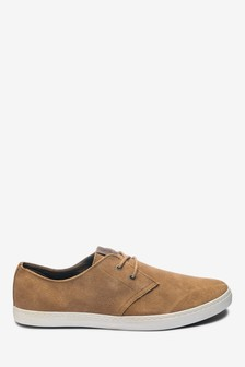 Casual Suede Derby Shoes