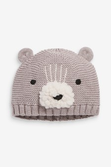 Knitted Character Hat (0mths-2yrs)