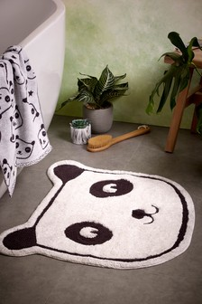 Childrens Panda Bath Mat