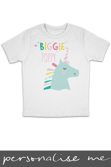 Personalised Unicorn T-Shirt