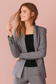 Single Breasted Tailored Jacket 65427c10de