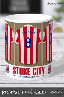 Personalised Stoke City Mug by Personalised Football Gifts