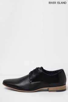 River Island Black Point Shoe