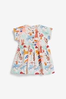 Short Sleeve Jersey Dress (0mths-2yrs)