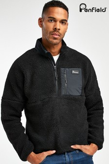 Penfield Black Medford Fleece