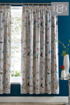 Mansfield Pencil Pleat Curtains by D&D