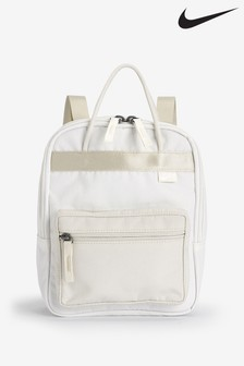 Nike Adult White Mini Tanjun Backpack
